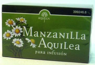 Aquilea Manzanilla Infusiones 20 Bolsitas - digestión, manzanilla dulce
