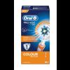 Oral-B Braun Pro 600 Cross Action Cepillo Eléctrico Naranja - Limpieza Profunda
