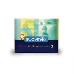 Pañal Suavinex Talla Mediana 30 Uds - Pañal Infantil, Bebés de 4-10 kg