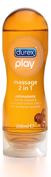 Durex Play Massage Estimulante 2 en 1 200 ml