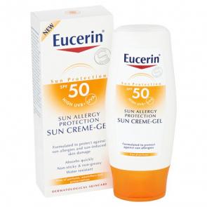 Eucerin Allergy Protection Sun Crema-Gel FPS 50 150 ml - Alergias