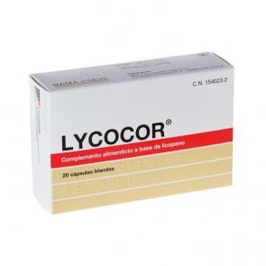Lycocor 20 Cáps Blandas