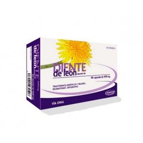 Homeosor Diente de León 400 mg 48 Cápsulas