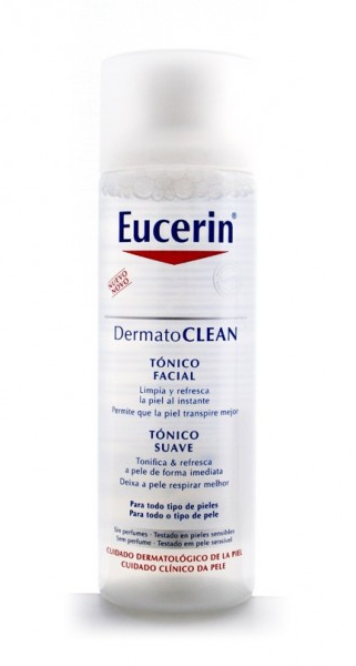 Eucerin DermatoCLEAN Tónico Facial 200 ml - Limpieza, Frescor