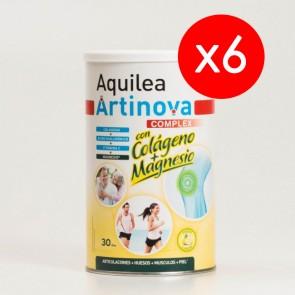 6 Botes Aquilea Artinova Complex con Colágeno y Magnesio 375 gr