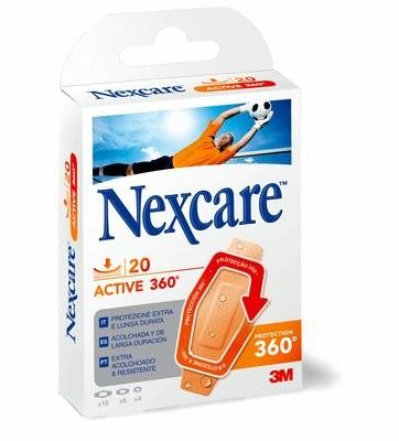 Comprar Nexcare Active 360º 20 Tiras Surtidas