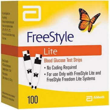 Freestyle Lite Tiras Reactivas Glucemia 100 uds - Medición de la Glucemia
