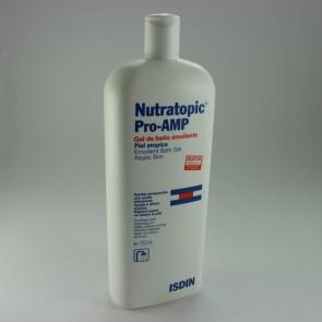 Nutratopic Pro-AMP Gel de Baño Emoliente 750 ML - Higiene Diaria, Piel Atópica