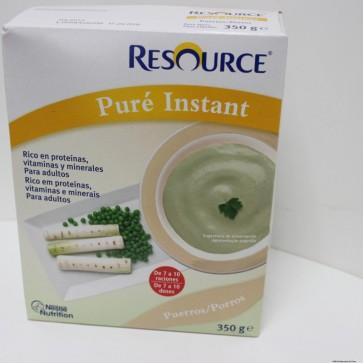 Resource Puré Instant Puerros 350 gr