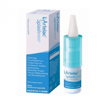Artelac Splash Estéril Multidosis 10 ml - Hidratación y Alivio Ocular Instantáneo en Gotas