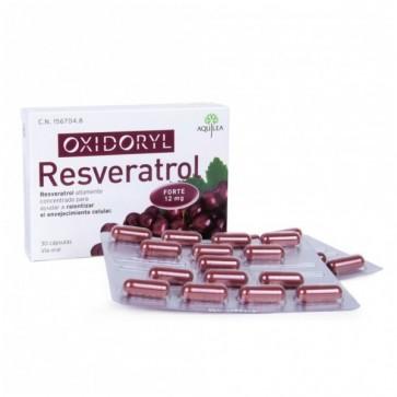 Oxidoryl Resveratrol 30 Cápsulas - Envejecimiento Celular
