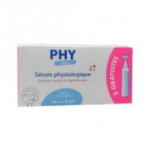 Suero Fisiológico PHY 40 viales +5 gratis