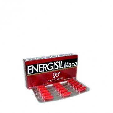 Energisil Maca Efecto Vigor 30 Cápsulas - Aumenta el Apetito Sexual, Mujeres y Hombres