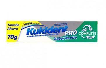 Kukident Pro Sabor Neutro Adhesivo para Prótesis Dental Tamaño Ahorro