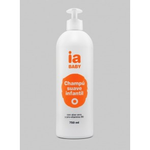 Champú Infantil 750 ml de Interapothek - Formato Ahorro - Higiene Diaria para Todo Tipo de Cabello