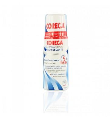 Corega Limpieza Refrescante Espuma 125 ml - Espuma Anti-bacteriana para Prótesis