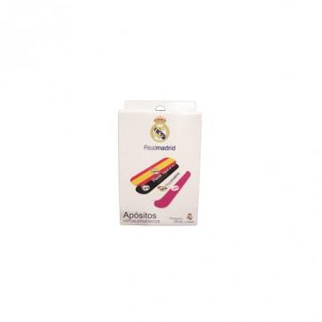 Tiritas Strips Aposito Adhesivo R Madrid 14 Unidades - Tiritas para niños con los colores del Real Madrid