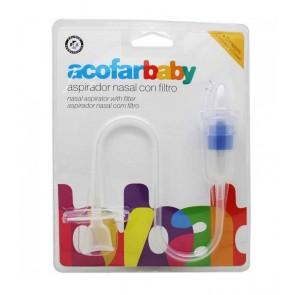Acofarbaby Aspirador Nasal Con Filtro
