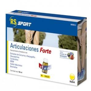 RS Sport Articulaciones Forte 14 Viales - Mantener Articulaciones en Buen Estado - Sabor Frutas del Bosque