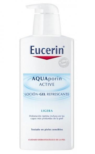 Eucerin Aquaporin Active Loción-Gel Refrescante Textura Ligera 400 ml - Hiratación Corporal