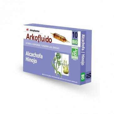 Arkofluido Alcachofa Hinojo 10 ampollas - detox, perder peso, depurativo