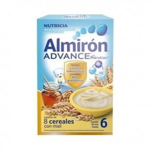 Almirón Advance 8 Cereales Miel 500 Gr