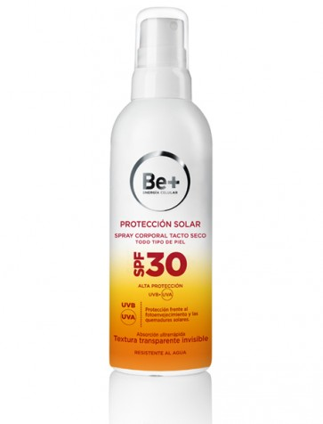 Be+ Protección Solar Spray Tacto Seco SPF30 200 ml