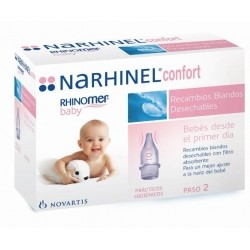 Narhinel Confort Aspirador Recambio 20 Blando