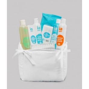 Canastilla para Bebé con Pack Especial Higiene de Interapothek - Regalo Perfecto para Recién Nacidos