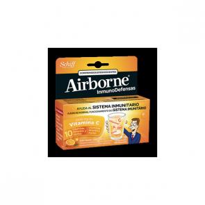 Airborne Efervescente Naranja 10 Comprimidos - Sistema Inmunitario