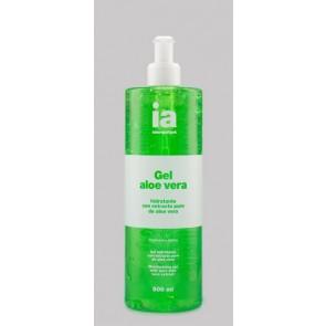 Gel Hidratante 500 ml Aloe Vera Puro de Interapothek - Hidratación de Pieles Secas Sensibles Irritadas o Normales