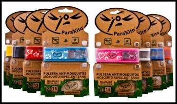Parakito Pulsera Repelente Insectos - Aceites Esenciales Repelentes