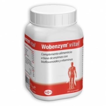Wobenzym Vital 200 Comprimidos - Bioflavonoides y Vitaminas, Dolor Agudo Muscular, Artrosis