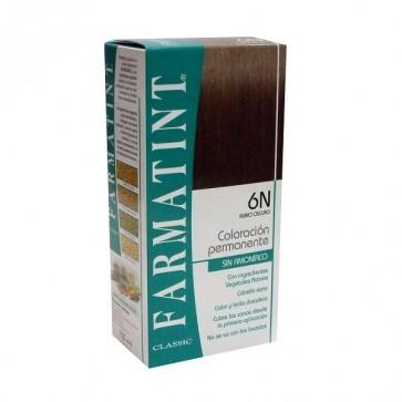 Farmatint 6N Rubio Oscuro 130 ML - Coloración Permanente Sin Amoniaco