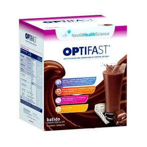 Optifast Batido Sabor Chocolate 9 sobres