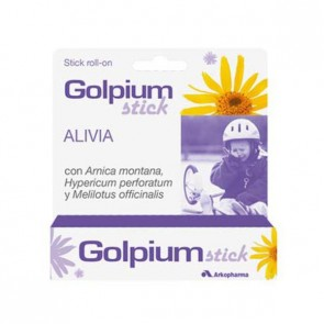 Golpium Stick Roll-on con Arnica - moratones, golpes, chichones