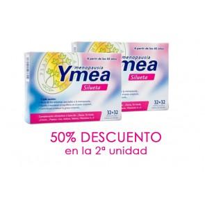 Duplo Ymea Silueta Menopausia 128 Caps - Ayuda a Eliminar el Exceso de Líquidos, Grasa y a Perder Peso