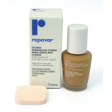 Repavar Oilfree Maquillaje Fluido Pieles Muy Claras 35 ml - Cuidado Facial