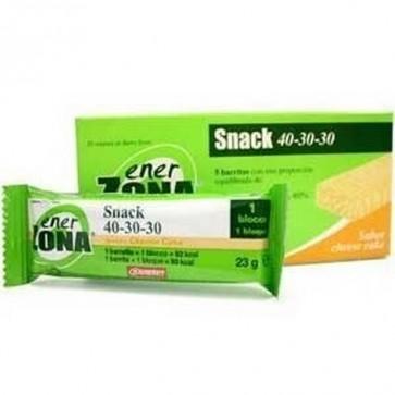 Enerzona Snack Cheesecake 5 Barritas - Aportan Hidratos de Carbono, Proteínas y Grasas