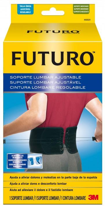 3M Futuro Soporte Lumbar Ajustable Talla Única
