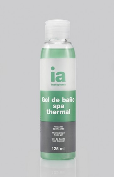 Gel de Baño Interapothek 125 ml Spa Thermal - Relaja y Purifica Tu Piel