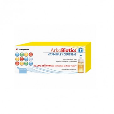 ArkoBiotics Vitaminas y Defensas Adultos 7 dosis - Sistema Inmunitario