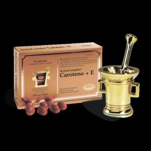 ActiveComplex Caroteno+E 60 Comprimidos - Contribuye a una salud optima de la Piel