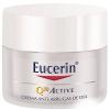 Eucerin Q10 Active Crema de Día Piel Seca/Muy Seca 50 ml - Antiarrugas, Antioxidante