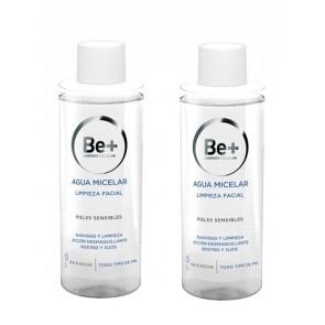 Be+ Duplo Agua Micelar Limpieza Facial Pieles Sensibles 2 x 200 ml