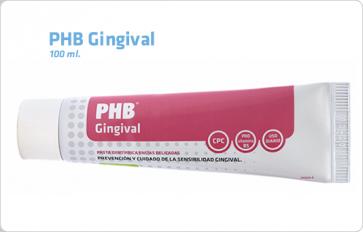 Gingival Pasta Dental Phb 100 ML - Limpieza Diaria, Encías Sensibles o Sangrantes