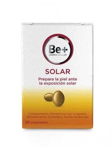 Be+ Solar Complemento Alimenticio Ante Exposición Solar 30 comprimidos