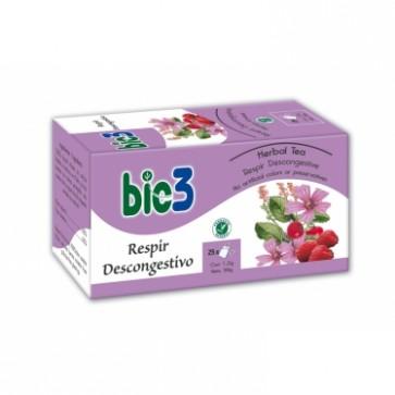 Bie3 Té Respir Descongestivo - catarro,tos, garganta, pecho, flemas y mocos