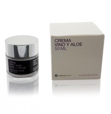 Crema de Vino y Aloe Vera 50ml Botanicapharma- Para pieles Maduras +40, Antioxidante