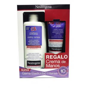 Neutrogena Visibly Renew Loción Corporal Elasticidad Intensa 400 ml + Crema de manos 75 ml de Regalo